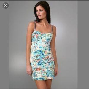 Nanette Lepore Honeysuckle Bustier Dress Sz 2